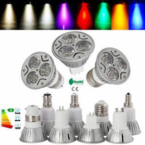 E27/E14/B22/B15/GU10/GU5.3/MR16 Dimmable 6W LED Spot Light Bulbs Epistar Lamp RH