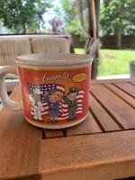 2003 Campbell's Kids Soup Collectors Mug Bowl 100 Yr 1933 Army  1927 C1g