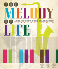 Official 130Th Rose Parade 2019 Theme Poster Print - The Melody Of Life