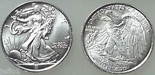 (1) One 1/10 Ounce .999 Pure Silver BU Round ☆ Walking Liberty Type ☆ Free Ship