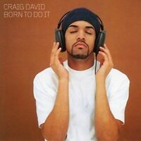 CRAIG DAVID Born To Do It CD BRAND NEW