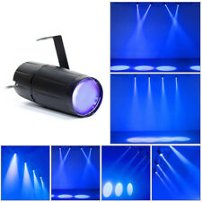 10W LED PINSPOT DJ Stage Light Mirror Ball Spotlight Dance KTV Party Blue Lights