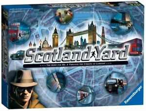 Ravensburger Scotland Yard - The Hunt for Mr X board game for age's 8 +