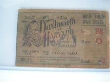 Robert F Kennedy RFK 1947 Harvard University Ticket Dar