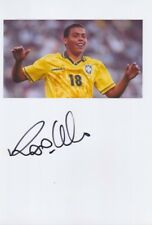 RONALDO Brasilien WM 2002 Foto 20x30 orignal signiert signed IN PERSON Autogramm