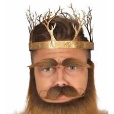 Adulto Medieval Oro Metálico Juego de Tronos FANTASY Corona Disfraz