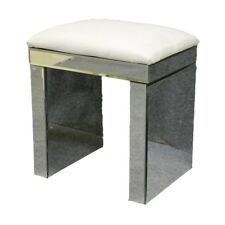 Mirrored Glass Bedside Tables Cabinet With 3 Drawers Nightstand Side Table