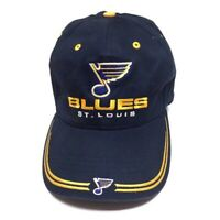 Vintage RARE St.Louis BLUES Snapback Hat NHL Hockey BLUE NOTE Twins Enterprise🔥