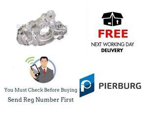 New Genuine Pierburg Oil Pump for Toyota Auris, Avensis 1.4 1.6 1.8 VVTi 2000>13