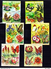 Burundi - Butterflies Insects on stamps - MNH**