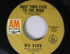Rock 45 We Five - Cast Your Fate To The Wins / Let'S Get Together On A&M