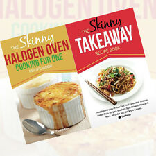 Skinny Halogen Oven Cooking For One 2 Books Collection Set The Skinny Takeaway