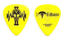 Queensryche Eddie Jackson Yellow Guitar Pick - 2006 Operation Mindcrime II Tour