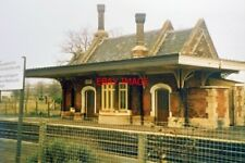 PHOTO  1985 CULHAM RAILWAY RAILWAY STATION ON A COLD WINTER'S DAY.