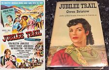 JUBILEE TRAIL, VERA RALSTON,  Original Poster, 1-SHEET, NM,  SIGNED NOVEL