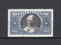 #519 - Vaticano - 1,25 lire Giardini e medaglioni, 1933 - Linguellato (* MH)