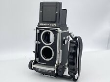 [N-MINT] Mamiya C220 Professional TLR Camera Body w/ Left Hand Grip From Japan