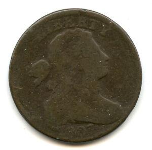 Genuine 1807/6 Draped Bust Large Cent   G+ Details