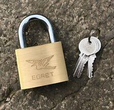 Securit Egret Keyed Alike 60mm Brass Padlock - Heavy Duty - Pad Lock