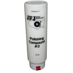 JFJ EASY PRO Polishing Compound Solution #2 WHITE 12oz