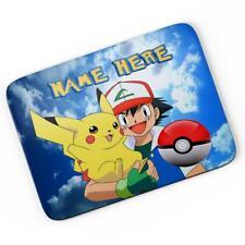 Personalised Pokemon Mouse Mat Pad Computer Gaming Go Gift Boys Girls Kids PK01