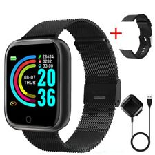 Smart Watch Women Men Fitness Tracker Steel Sport Wristband For Android IOS