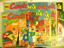 17 x MV Comix - Sammlung 8. Jahrgang 1973 -Z. 2-3/3