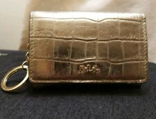 Bnwt Ralph Lauren Small Blue Coin Card Purse