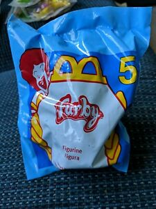 Rare 1998 McDonald's Happy Meal bag and McFurby #5 sealed