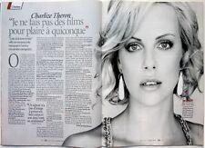 Mag 2009: CHARLIZE THERON_LAURENT GERRA_LINE RENAUD_LAURENT RUQUIER