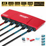 TESmart 1X4 HDMI Splitter Repeater Amplifie Support 1 in 4 out 4K@60Hz