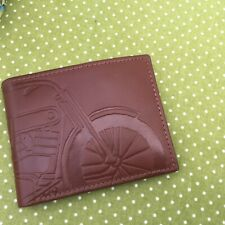 FOSSIL DEX COGNAC LEATHER BIFOLD WALLET BRAND NEW WITH TAGS