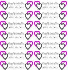 Personalised Gift Wrapping Paper Valentines Day Design 2