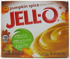 4 Pumpkin Spice Jello Instant Pudding and Pie Filling Boxes Expire July 2018