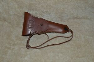WWII 1942 US Army Sears Saddlery Co. Colt 1911 A1 1911A1 M1916 Pistol Holster