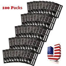 100 Packs Mini Dental Orthodontic Brackets Braces Roth Slot.022 3 Hooks #UT:yt