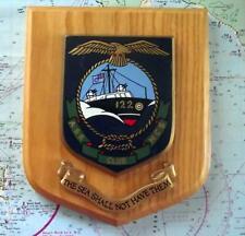 More details for vintage raf royal air force air sea rescue squadron station crest shield plaque