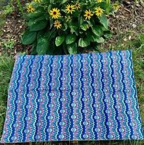 Colorful Tarot Cloth with Gold Accents - Lined - HANDMADE!