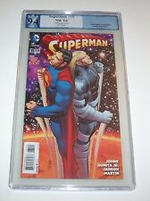 Superman (New 52) #35 - DC 2014 Modern Age John Romita Jr variant - PGX NM 9.4