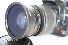 Macro  Wide Angle Lens for Canon Eos Digital Rebel & t7i sl/1/2 XTi w/18-55 New