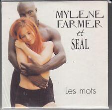 """CD SP 2T MYLENE FARMER & SEAL """"LES MOTS"""""""