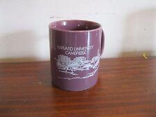 Vintage Harvard University Cambridge Mug  Purple color