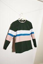 ASOS Men's Green Pink Long Sleeve Cotton Shirt Small