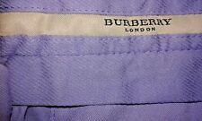 Burberry London Lilac Casual Chino Open Hem trousers/Pants - W29/L34