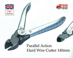 PARALLEL ACTION HARD WIRE CUTTER PLIERS BEADING JEWELLERY WATCH OPTICAL TOOL NEW