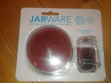 JarWare 82633, Jelly/Jam Lids, Strawberry, 4 Lids In Package, FREE SHIPPING