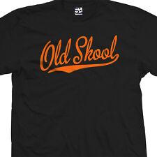 9ced8599 Old Skool Script Tail Shirt - School Guys Men Rule Cool Tee - All Size &