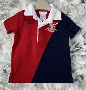 Boys Age 3-6 Months - Ralph Lauren Polo Shirt Top