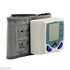 Automatic Wrist Watch Blood Pressure Monitor bp wristwatch digital