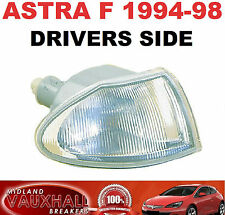 VAUXHALL ASTRA F MK3 94-98 CLEAR INDICATOR LAMP LIGHT LENS DRIVERS OFF SIDE NEW